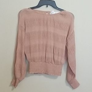 ASTR the Label Smocked Blouse*Like New*